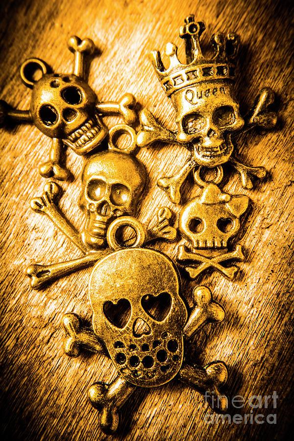 Skulls Photograph - Skulls And Crossbones by Jorgo Photography - Wall Art Gallery