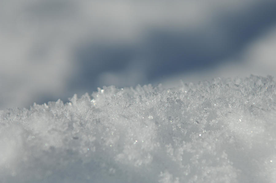 Ice Photograph - Sky And Ice by Donna Blackhall