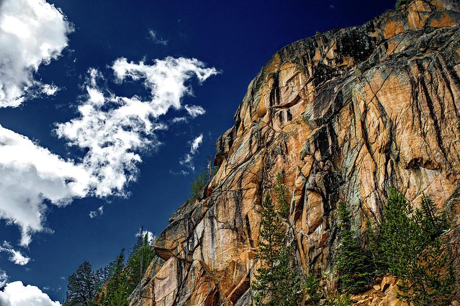 Sky and Rocks 5 by Alex Galkin