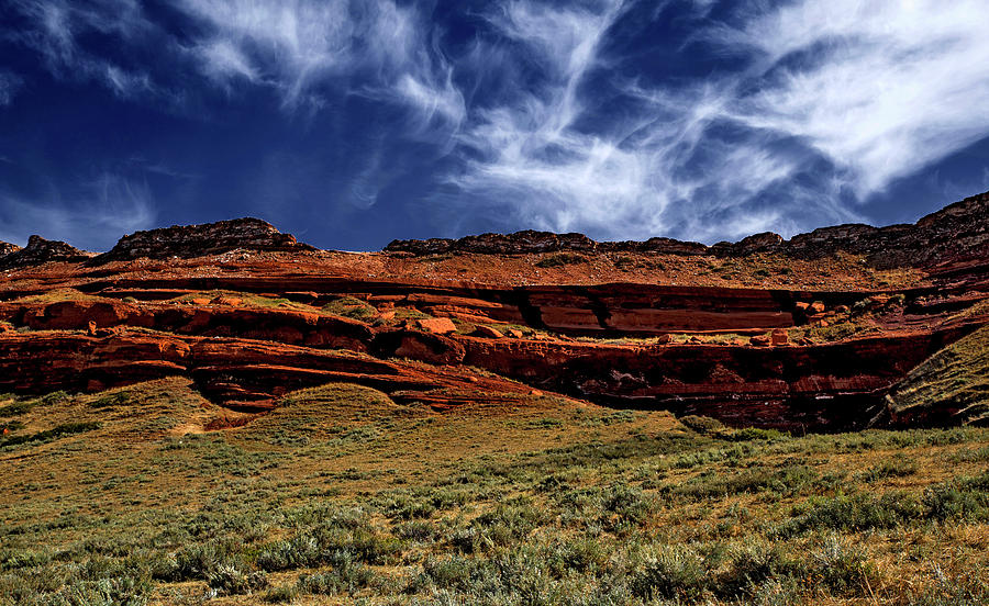Sky and Rocks 6 by Alex Galkin