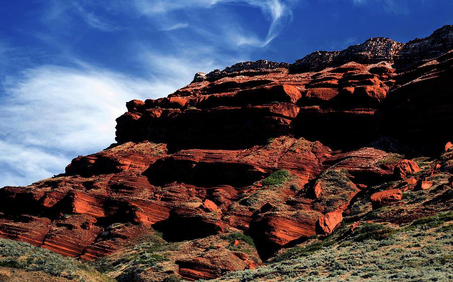 Sky and Rocks 7 by Alex Galkin