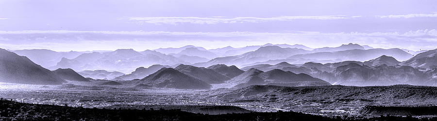 Landscape Photograph - Sky Blue Hills Of The Tonto by Mike Herdering