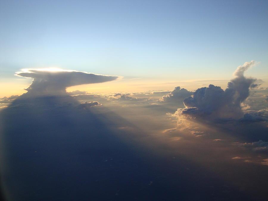 Sun Photograph - Sky by Catherine Green