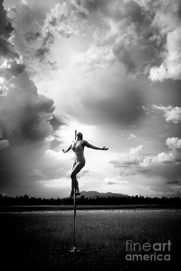 Sky Dancing Photograph