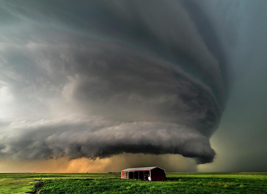 Landscape Photograph - Sky Eater by Brandon Sullivan
