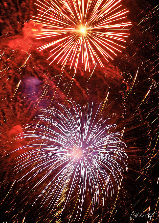July 4th Photograph - Sky Explosion by Phill Doherty