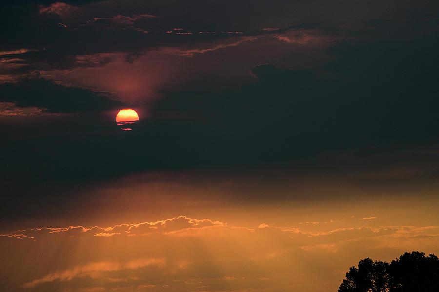Sky Fire Photograph