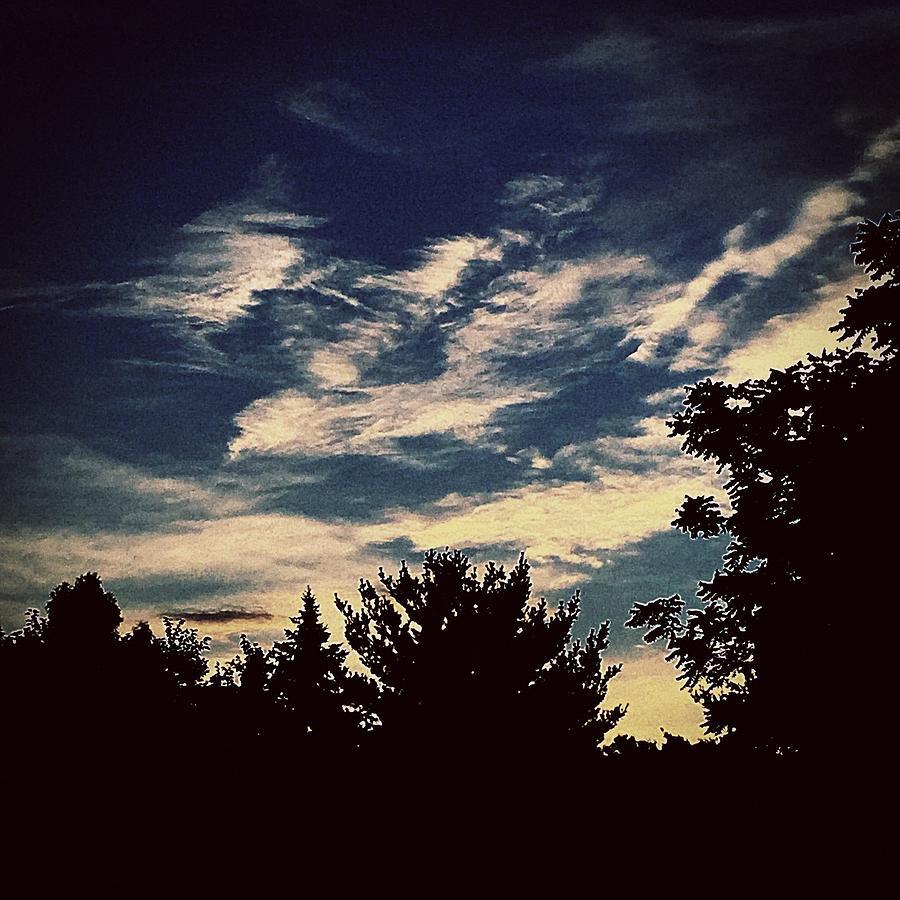 Sky Photograph - Sky by Frank J Casella