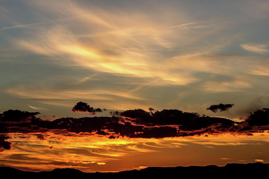 Sky Highlights Sunset 10/24/2016 Photograph