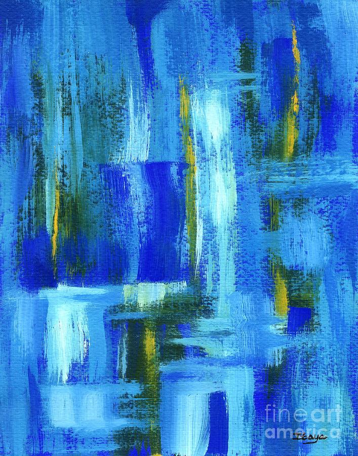 Sky Juice Painting - Sky Juice by Itaya Lightbourne