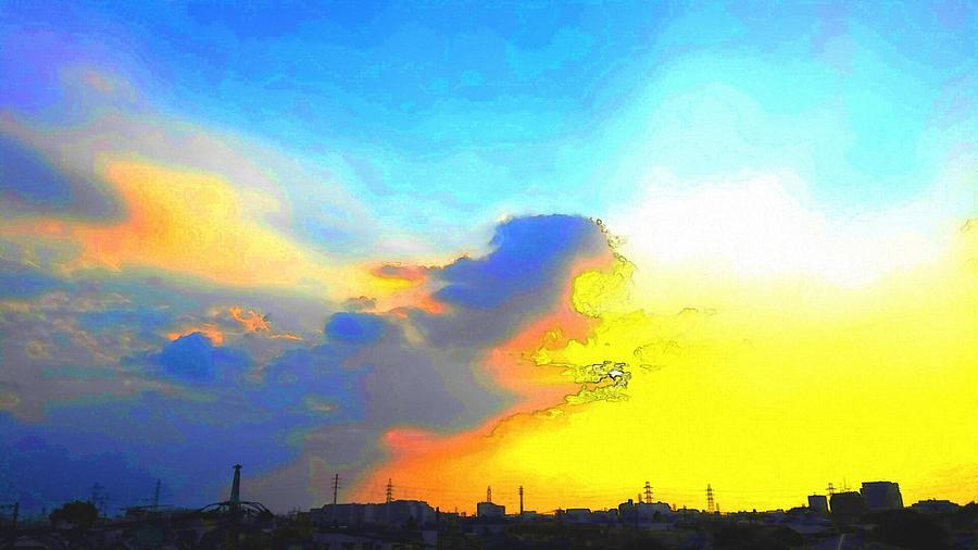 Sky Digital Art - Sky by Kumiko Izumi