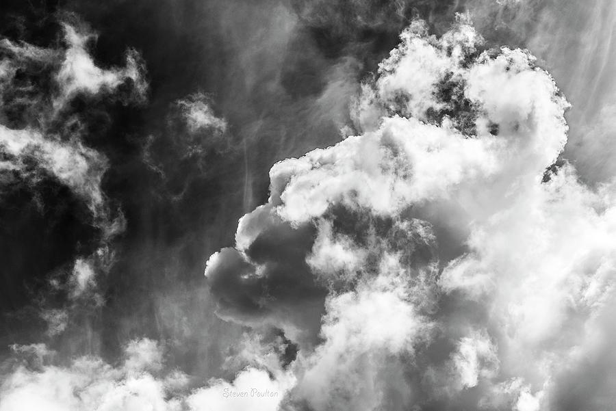 Clouds Photograph - Sky Life Regal by Steven Poulton