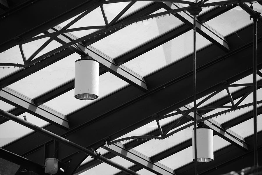 Black And White Photograph - Sky Lights by Rob Hans