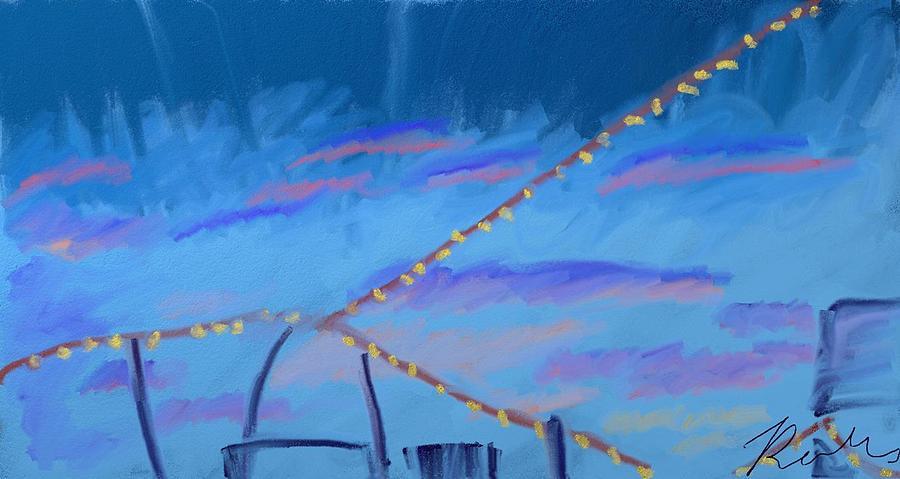 Sky Digital Art - Sky Lights by Robee B
