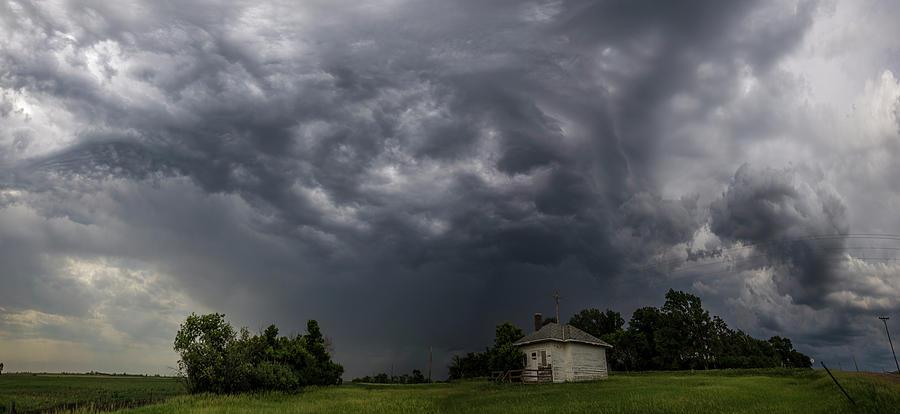 Tornado Watch Photograph - Sky Monster  by Aaron J Groen