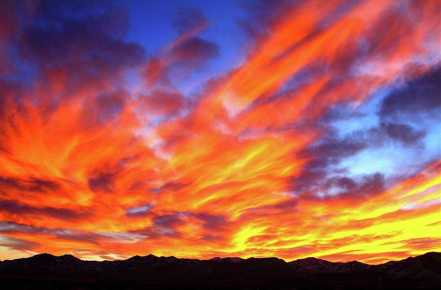 Sky on Fire #5 by Paul Marto