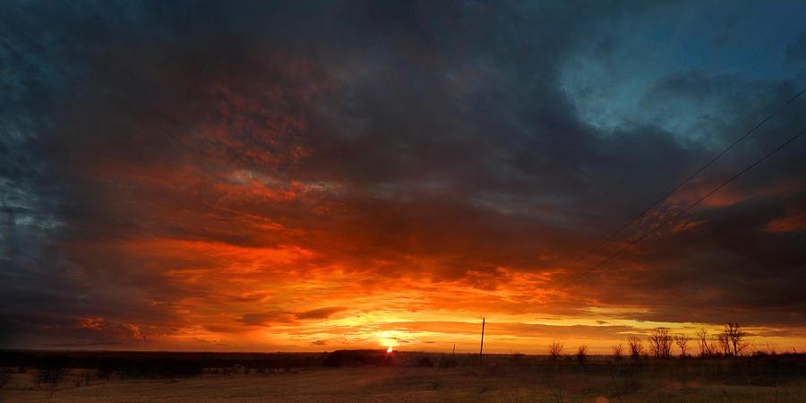 Sky on Fire by Rod Seel
