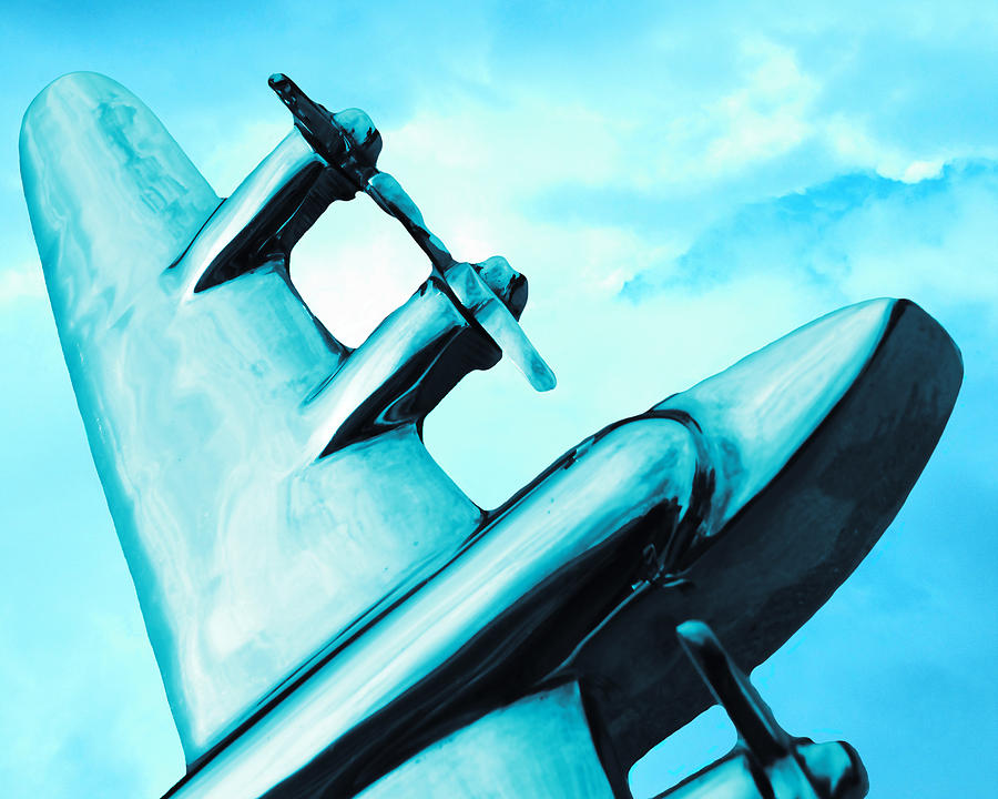 Airplane Photograph - Sky Plane by Slade Roberts