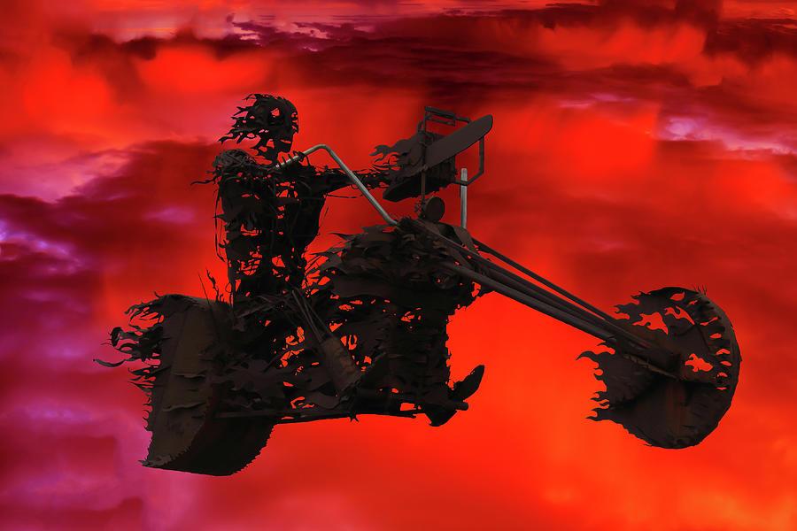 Sky Rider by Shane Bechler