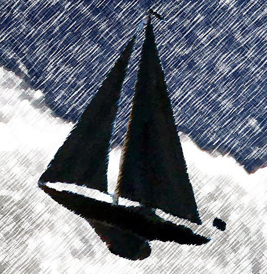 Sky Sailing by Rodger Mansfield