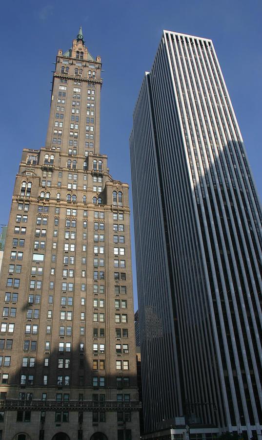 Buildings Photograph - Sky Scrapers by Rick De Wolfe