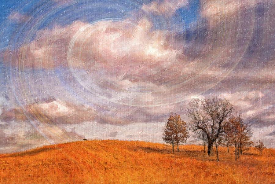 Sky Swirls by Winnie Chrzanowski