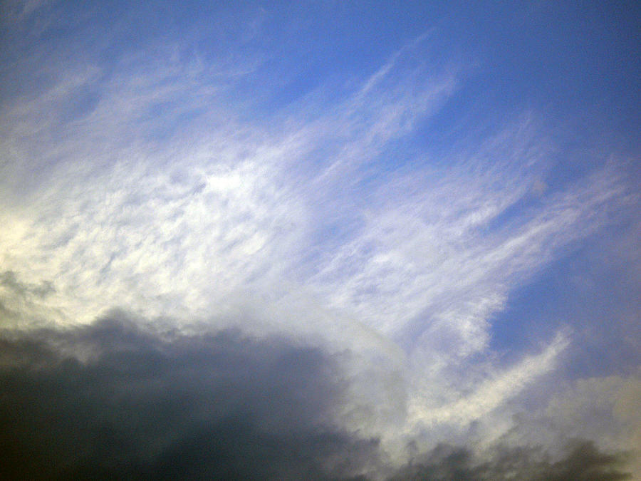 Cloud Photograph - Sky6 by Mikael Gambitt