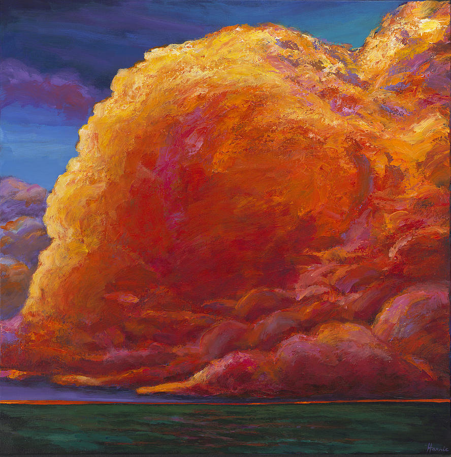 Sunset Painting - Skydance by Johnathan Harris