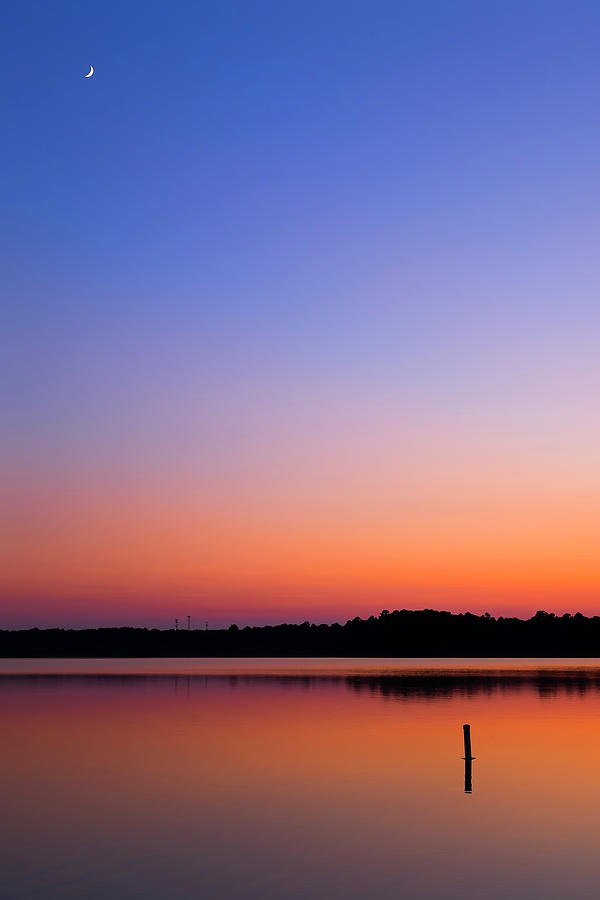 Skyfall over Lake Crabtree by Andy Bitterer