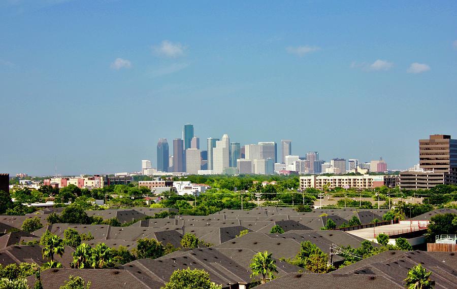 Skyline Houston Photograph
