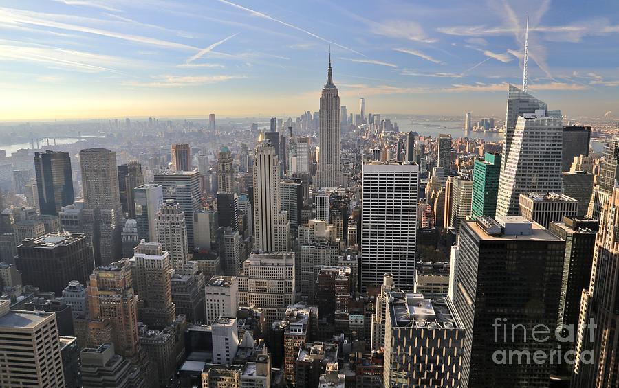 Destination Photograph - Skyline New York City  by Douglas Sacha