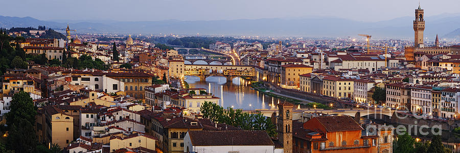 Apartment Photograph - Skyline Of Historic Florence by Jeremy Woodhouse