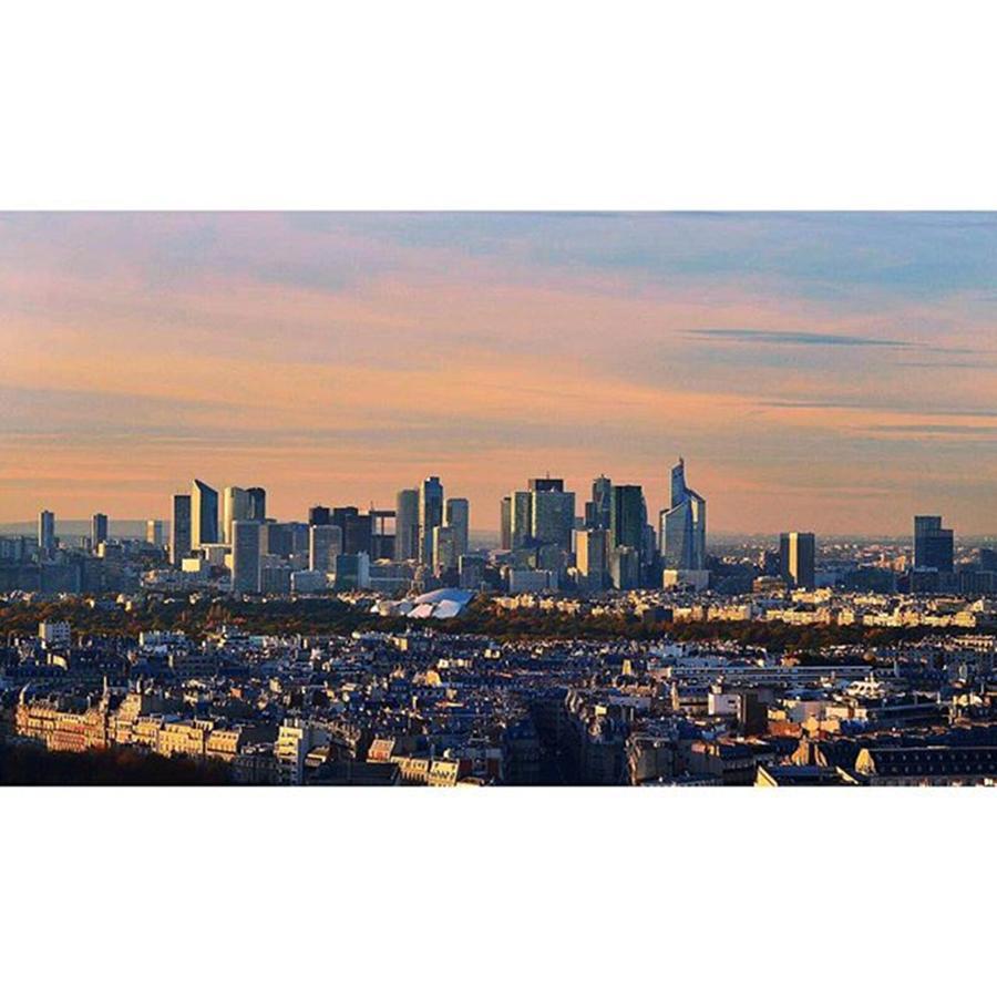 Skyline Photograph - Skyline  #paris #skyline #france by Andrea Tartaglino