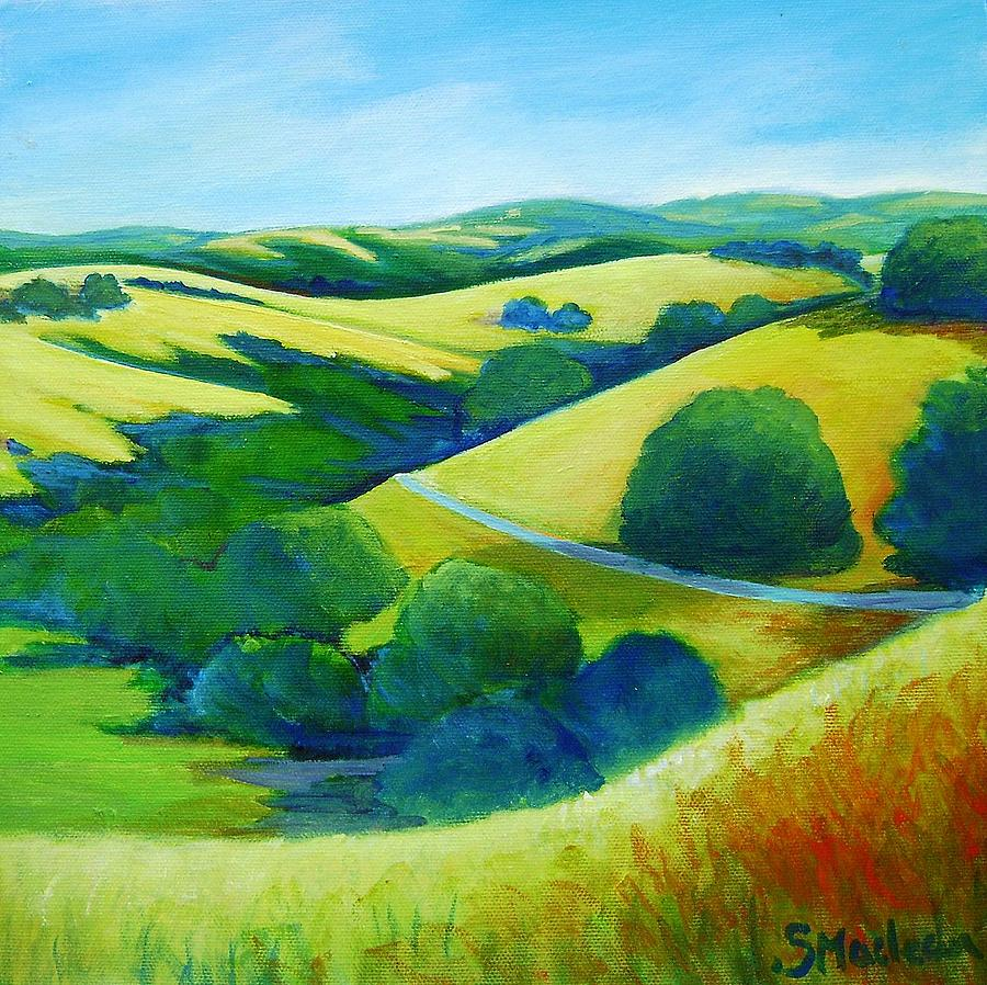 Landscape Painting - Skyline Trail by Stephanie  Maclean