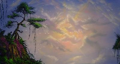 Sky Painting - Skyscape by Victor Kirton