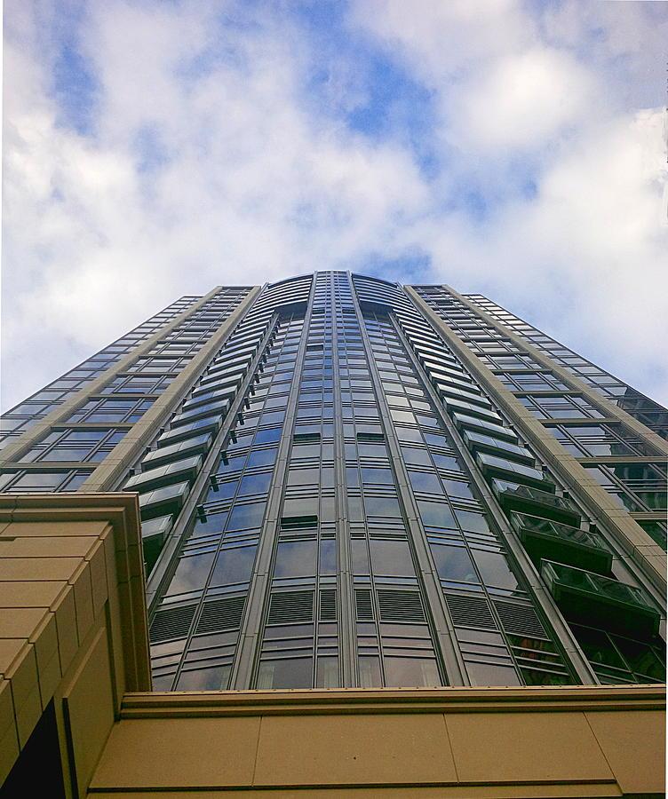 Skyscraper Blue by TJ Scar