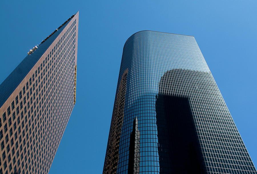 Skyscrapers Reflect Los Angeles by Lorraine Devon Wilke