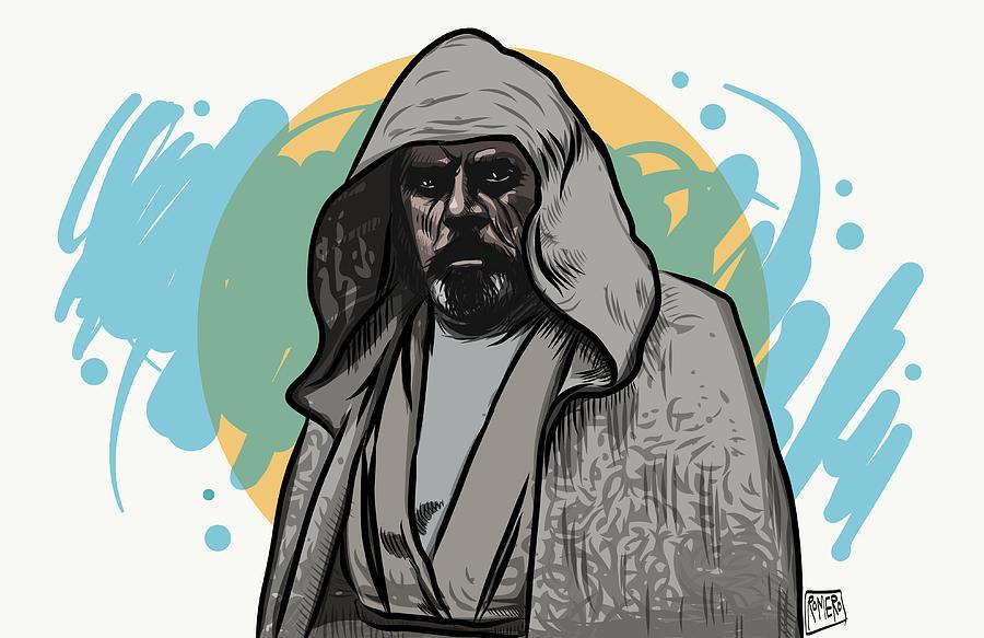 The Force Awakens Digital Art - Skywalker Returns by Antonio Romero