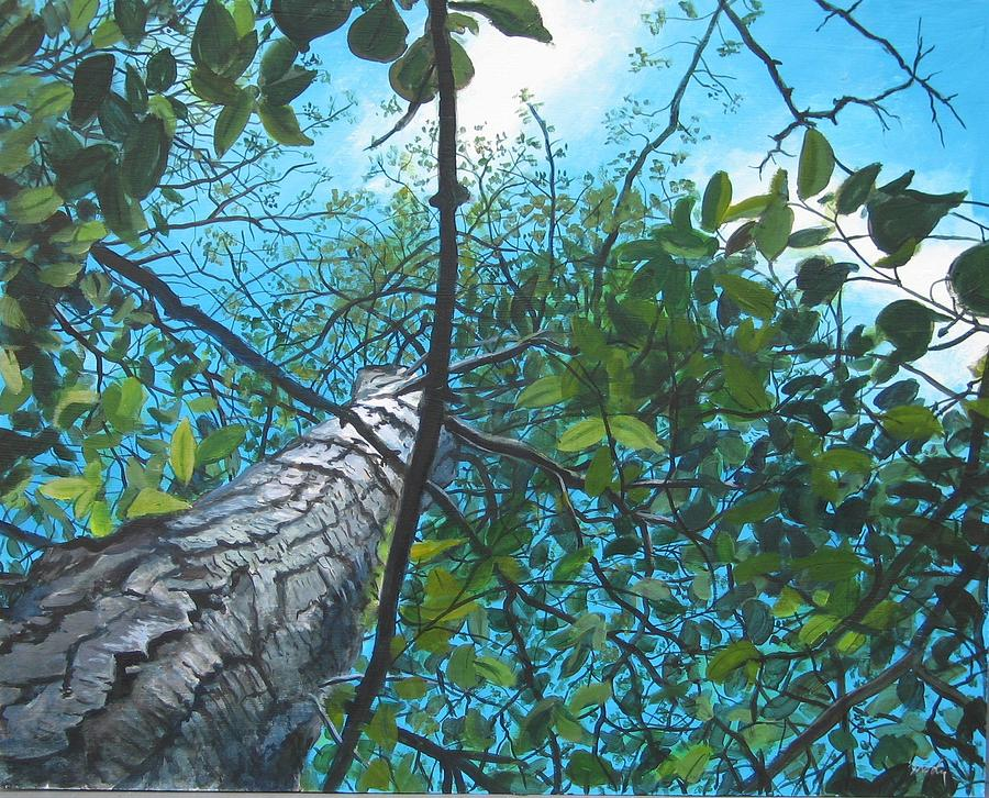 Landscape Painting - Skyward by William  Brody