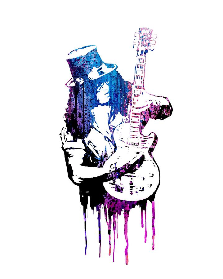 Slash Painting - Slash by Art Popop