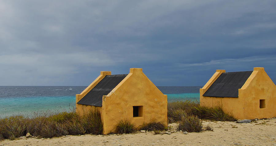 Slave Photograph - Slave Huts by Stephen Anderson