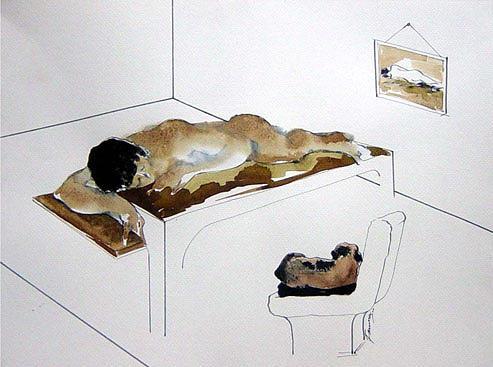 Sleep Painting - Sleep by Fauna Bose