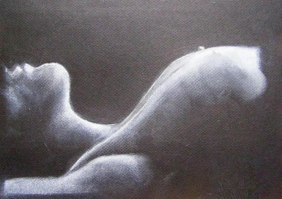 Nude Painting - Sleep by Joanna  Kasprzak