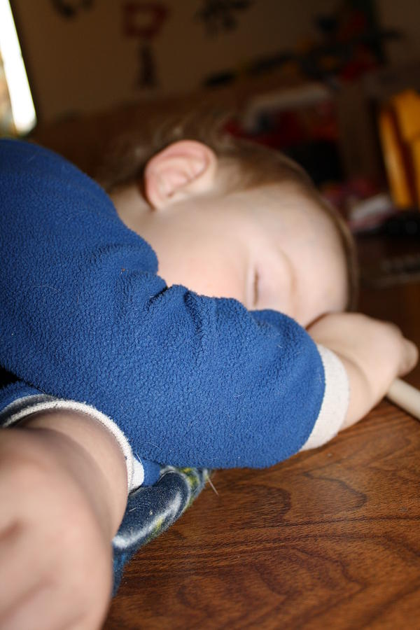 Child Photograph - Sleep Time by Monica Smith