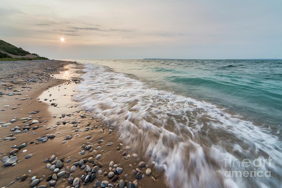 Sleeping Photograph - Sleeping Bear Point SUmmer Evening by Twenty Two North Photography