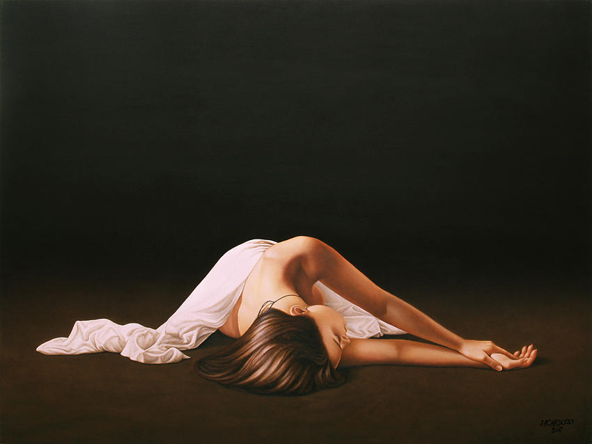 Nude Painting - Sleeping Beauty by Horacio Cardozo