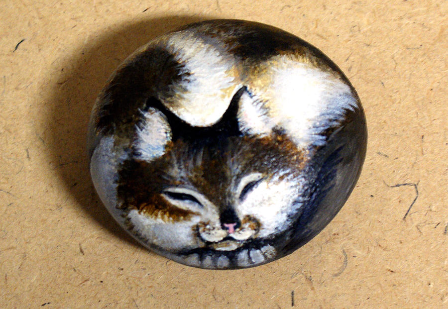 Sleeping Cat Painting - Sleeping Cat by Sara Guidry