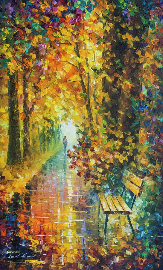 Painting Painting - Sleeping Feelings by Leonid Afremov