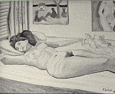 Sleeping model by Biagio Civale