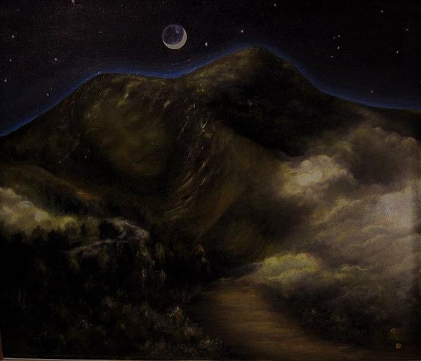 Mount Tamalpais Painting - Sleeping Princess by Mimi Saint DAgneaux